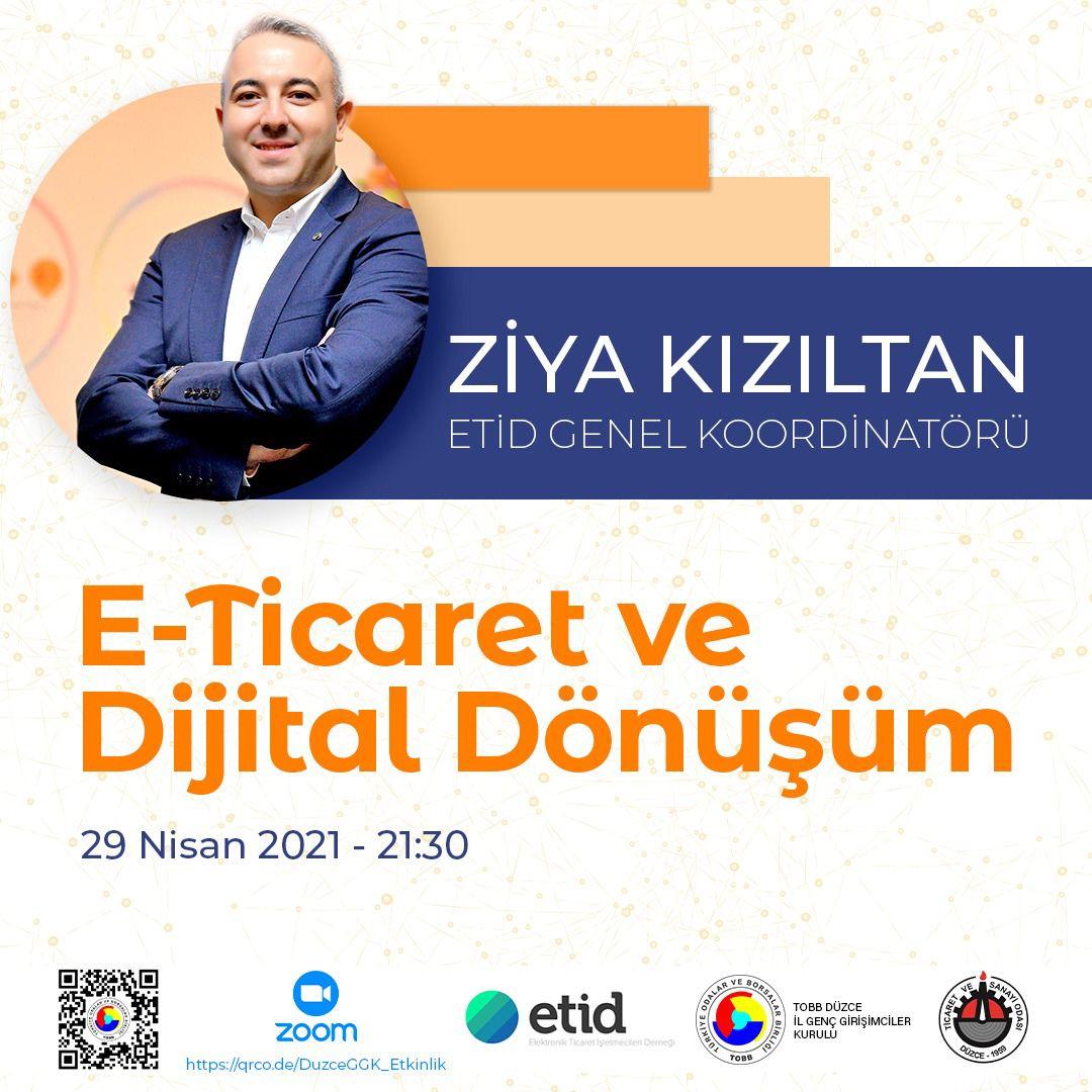 E-Ticaret ve Dijital Dönüşüm Webinarına Davet