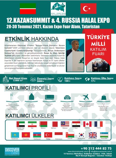 Kazan Summit 2021 kapsamında Helal  Expo Fuarı