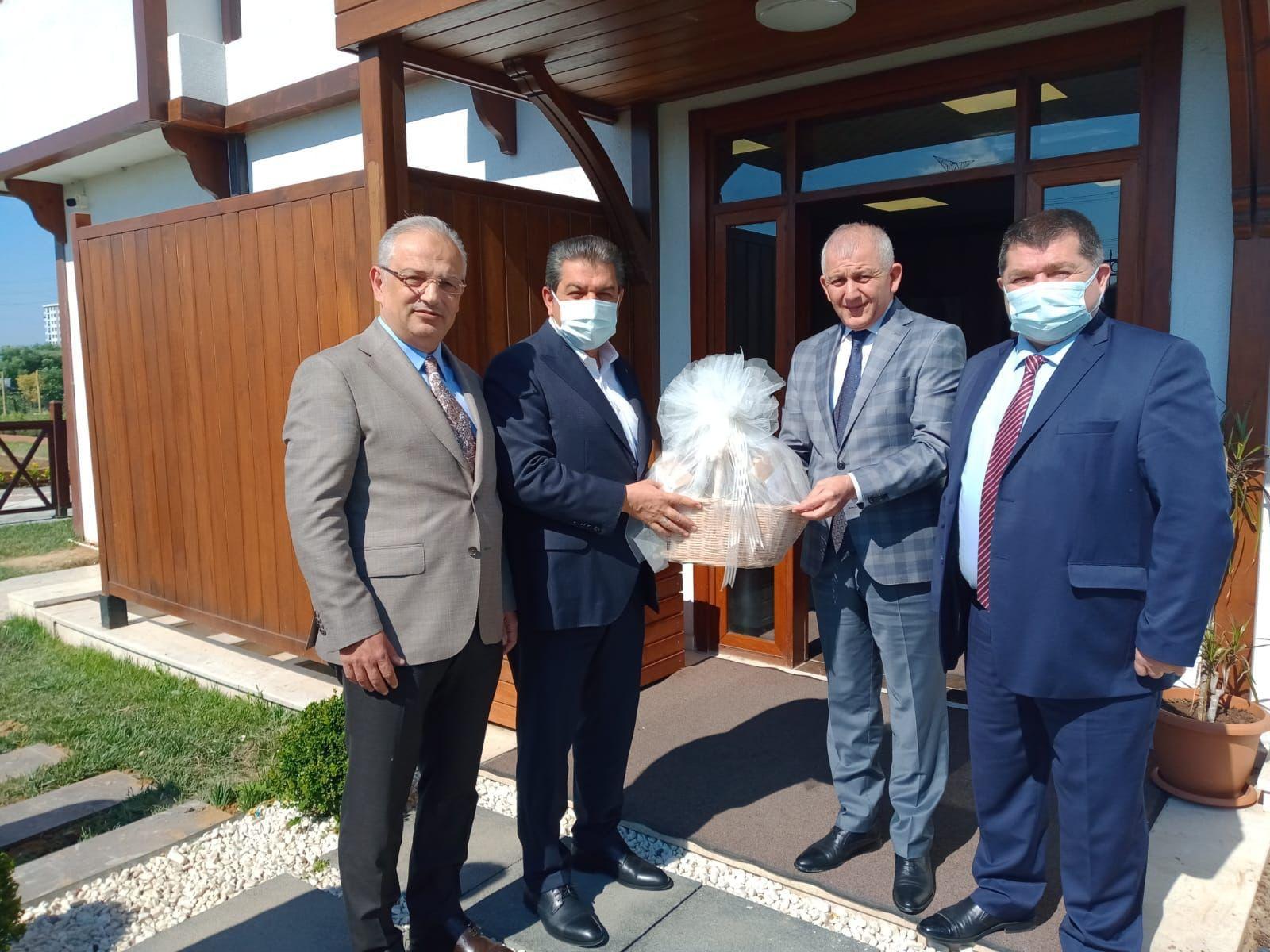 Tuncay Şahin Esenler Belediyesi'ni Ziyaret Etti