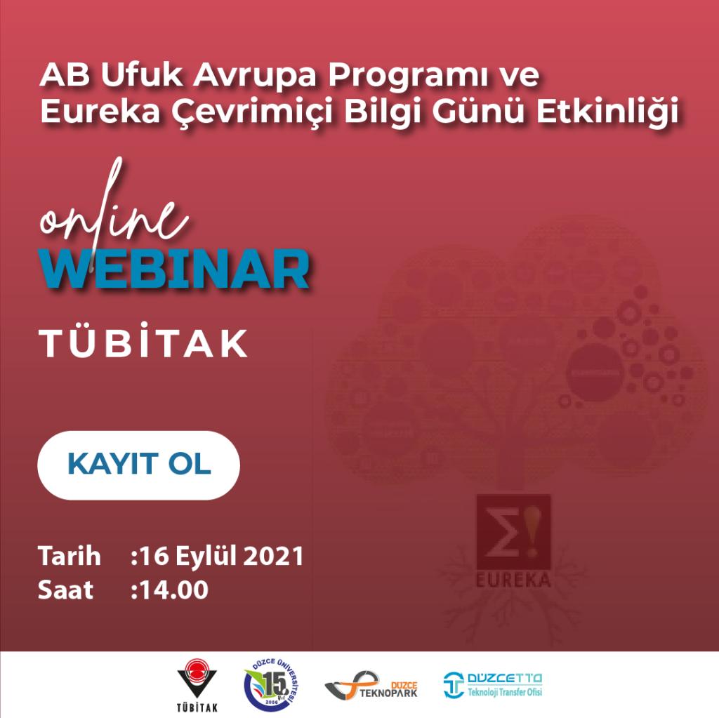 AB Ufuk Avrupa Programı ve Eureka Çevrimiçi Bilgi Günü Etkinliği
