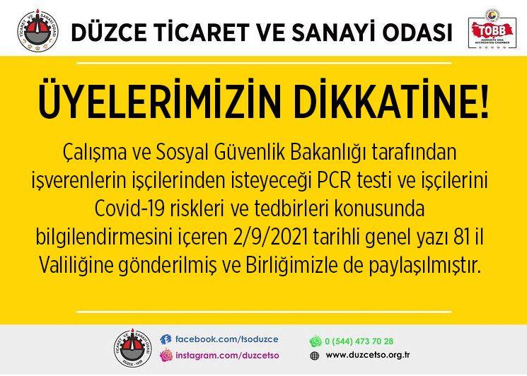 İŞYERLERİNDE COVİD-19 TEDBİRLERİ